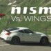 Sponsored Video: Nissan 370Z Nismo vs Wingsuit